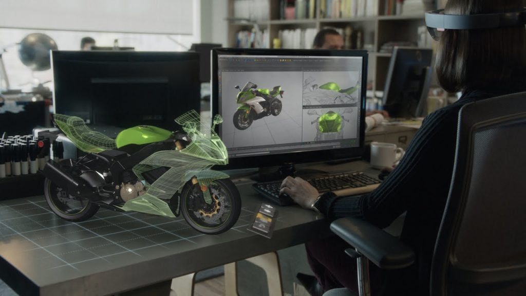 Microsoft's Hololens for Designers and Engineers