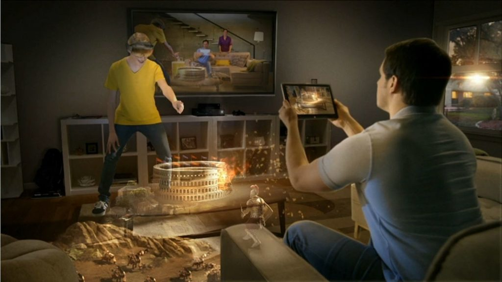 Microsoft Hololens Virtual Reality Games