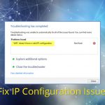 Possible Reasons Why the WiFi Doesn't Have a Valid IP Configuration